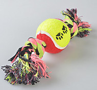Dog Toy Pet Toys Chew Toy / Interactive Candy Textile Multicolor