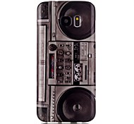 Radio Pattern TPU Back Case for Galaxy S7 /Galaxy S7 Edge