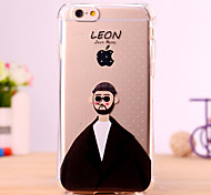 Cartoon LEon Design Cover for IPhone 6 Iphone6S