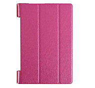 """Dreifachfaltschließe Muster Qualitäts-PU-Leder für lenovo Yoga Tab 3 850F """"Tablette 8 (verschiedene Farben)"""