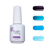 ILuve Gel Nail Polish Set - Pack Of 4 - Long Lasting 3 Weeks Soak Off UV Led Gel Varnish – For Nail Art #4040