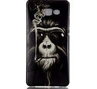 Monkey Pattern TPU Back Case for Galaxy A5(2016)/Galaxy A5(2016)