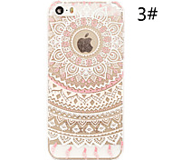 """Colorful Flower Painted Pattern Slim Plastic Back Hard Case For iPhone 5S 4.0"""""""