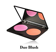 Red&Black Double Blush Smooth And Bright Natural Makeup