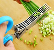 New Multifunctional Stainless Steel Kitchen Scissor Cut Tool Chopped Green Onion