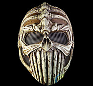 FRP Lord HalloweeC costume Party  Black Resin Mask
