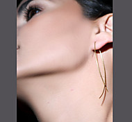 Stud EarringsJewelry 1 pair Golden / Black-White / Silver Copper Party / Daily / Casual