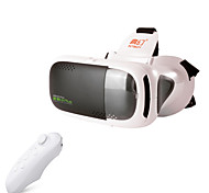 RITech 3plus realidad virtual vr gafas 3d controlador + bluetooth blanco
