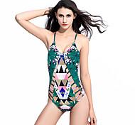 2016 European And American New Digital Printing Ladies Swimsuit