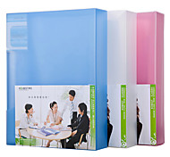 Multifunction Portable Files Folders & Filing for Office 10pages Random Colors
