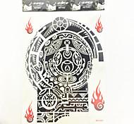 1 Pcs Waterproof Temporary Tattoo(26cm*19.3cm)