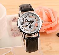 Men's Hot Fashion European Style Hollow Dragon Quartz Wrist Watch Cool Watch Unique Watch
