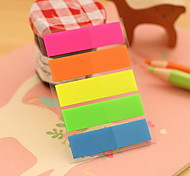 Solid Color Stripe Self-Stick Notes(1 PCS)