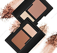 2 Earth Color N@RS Contour Shade Kit Bronzer&Highlighter Contour Blush Matte Makeup Cosmetic Palette(2 Color Selected)