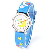 Women's Fashionable  Leisure Three-Dimensional Pattern Silicone Quartz  Watch Silicone Band Cool Watches Unique Watches