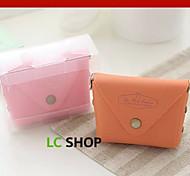 Travel WalletForTravel Storage Plastic Blue / Purple / Pink / Yellow / White / Orange 8*4*6.5