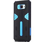 forma 2 em 1 kickstand caso de telefone híbrido para Samsung Galaxy a7c2016) / A5 (2016) shell de armadura resistente à prova de choque