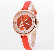 Women's Fashion Watch Band Fine Round Dial Quartz Analog Watch Cool Watches Unique Watches