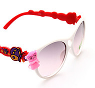 Cat-Eye Full-Rim Plastic Resin Fashion Sunglasses for Kids