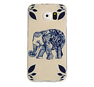 Fashion Elephant Cat  Dandelion TPU Rubber Soft Case For SAMSUNG GALAXY S6 G9200 Back Cover Cell Phone Protective Bags