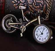 Unisex Pocket Watch Bicycle Personality Retro Shiying Huai Table