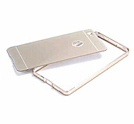 Metal Bumper Case Capa Acrylic Back Cover Ultra Thin Aluminum Phone Frame Set Phone Cases for Huawei P8 Lite