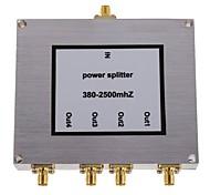 4-полосная бустер сма делитель мощности сигнала мобильного телефона разветвитель 380-2500mhz