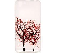 For Lenovo Case Glow in the Dark Case Back Cover Case Tree Soft TPU Lenovo