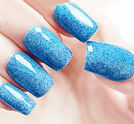 Ekbas Environmentally Safe Sugar Gum Blue Matte Nail Glue 16ML Nail Polish