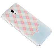 For Lenovo Case Pattern Case Back Cover Case Geometric Pattern Hard Silicone Lenovo