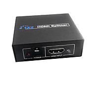 hdmi v1.3 1x2 hdmi splitter (1 in 2 out), il supporto 3D 1080p