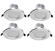 3W Luci a sospensione 6 SMD 5730 300 lm Bianco caldo / Luce fredda Decorativo AC 85-265 V 4 pezzi