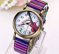 Women's Fashionable Leisure Retro Hand-woven Striped Watch Cool Watches Unique Watches