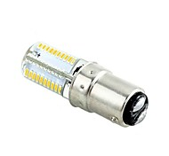 1 pcs BA15D 4W 80 SMD 3014 320-360 lm Warm White / Cool White T LED Corn Lights AC 220-240 V
