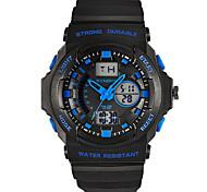 Sports Watch Heren alarm / s Nachts oplichtend Japanse quartz Digitaal armband
