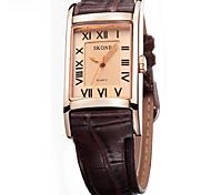 SKONE montre femme fashion simple Couple Watches Square Business Casual quartz Wristwatch  montre homme Cool Watches Unique Watches