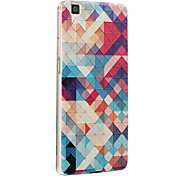 For OPPO Case Pattern Case Back Cover Case Geometric Pattern Hard PC OPPO