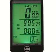 SunDing SD-576C Wireless Multifunction Bicycle Computer Water-resistant LCD Backlight Bike Speedometer
