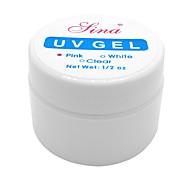 1PCS Nail Art UV Color Gel (14ml, farbig sortiert)