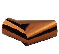 resumen nueva joyería de las uñas de color marrón estrella