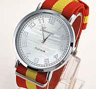 Men's Knitted Nylon Watch Wrist Watch Cool Watch Unique Watch
