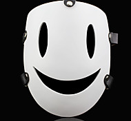 Mask Inspired by K Chi Ch Anime Cosplay Accessories Mask White Resin Male / Female