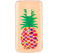 Fruit Pineapple Pattern Embossed TPU Case for LG K7/ K10