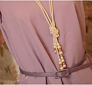 Exaggerated Fashion Personality Ms Pearl Diamond Necklace
