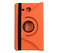 Per Samsung Galaxy Custodia Con supporto / Con chiusura magnetica Custodia Integrale Custodia Tinta unita Similpelle Samsung Tab 4 7.0