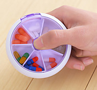 Button Rotary Kit Storage Box Finishing Random Color