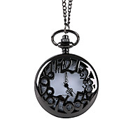 Unisex Pocket Watch Large Digital Full Hollow Retro Flip Shiying Huai Table(Assorted Colors) Cool Watches Unique Watches