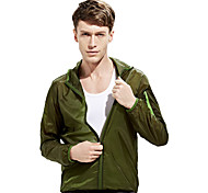 Outdoor Clothing Male Skin Ultra-thin Breathable Windbreaker Quick-drying UV Sun Protection Clothing
