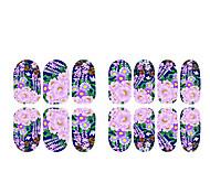 Flor de la fluorescencia de la flor y la joyería de uñas alces
