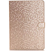 la mode étui en cuir de diamant pour apple ipad air 2 chiquenaude support tablette intelligente étui de protection couverture pour ipad